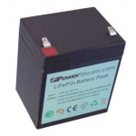 LFP128045, 12 Volt 4.5 Amp Hour Lithium Iron Phosphate Batteries designed as a lithium replacement for SLA Batteries