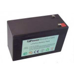 LFP128075, 12 Volt 7.5 Amp Hour Lithium Iron Phosphate Batteries designed to be a direct replacement for SLA Batteries